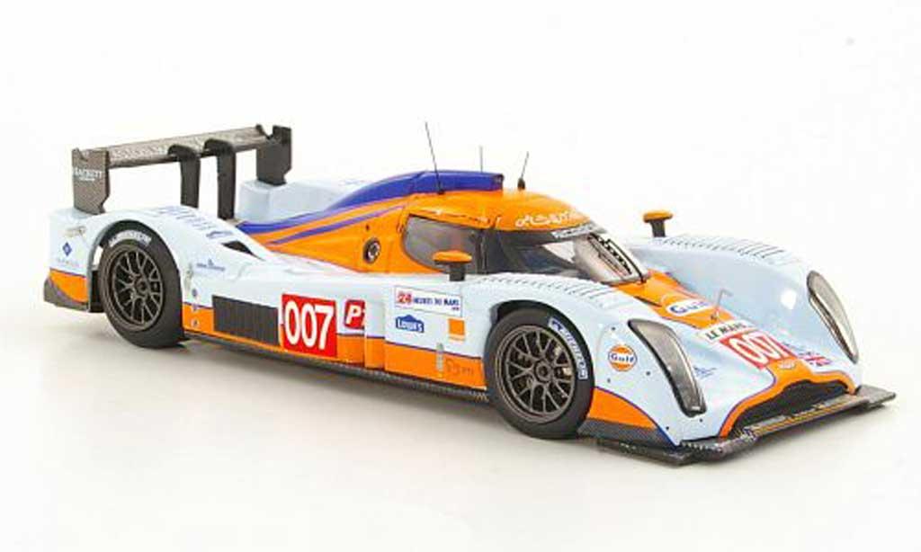 Aston Martin LMP1 1/43 IXO Lola No.007 Gulf H.Primat / S.Mucke / A.Fernandez 24h Le Mans 2010 miniature