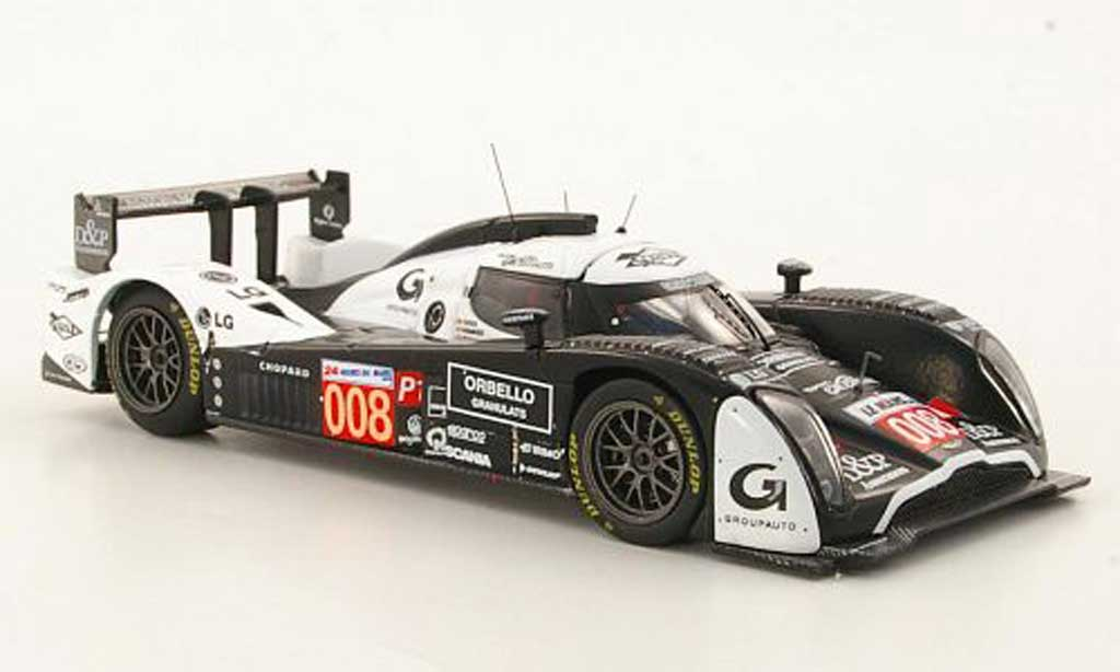 Aston Martin LMP1 1/43 IXO Lola No.008 P.Ragues / V.Ickx / F.Mailleux 24h Le Mans 2010 miniature