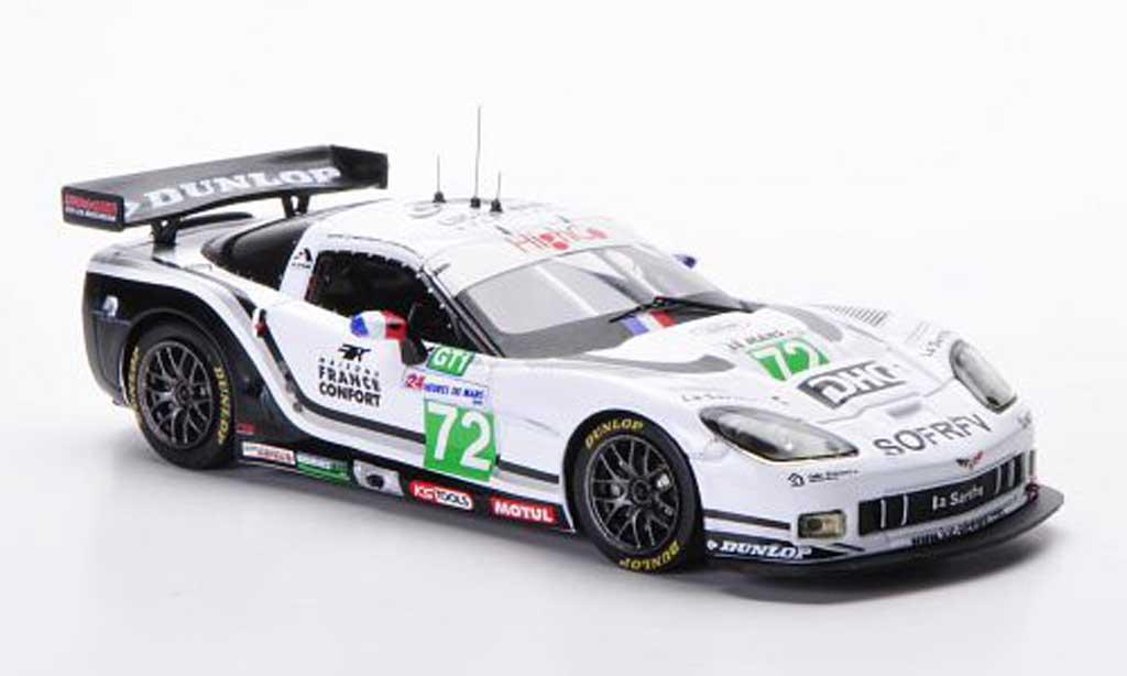 Chevrolet Corvette C6 1/43 IXO R No.72 S.Gregoire / J.Policard / D.Hart 24h Le Mans 2010 diecast