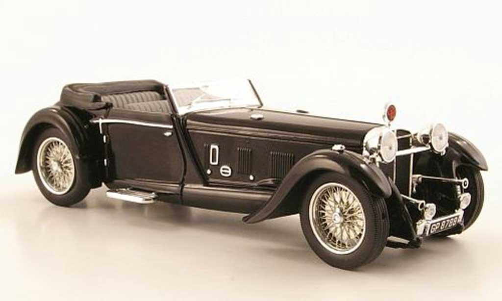 Daimler Double Six 1/43 IXO 50 Convertible noire 1931 miniature