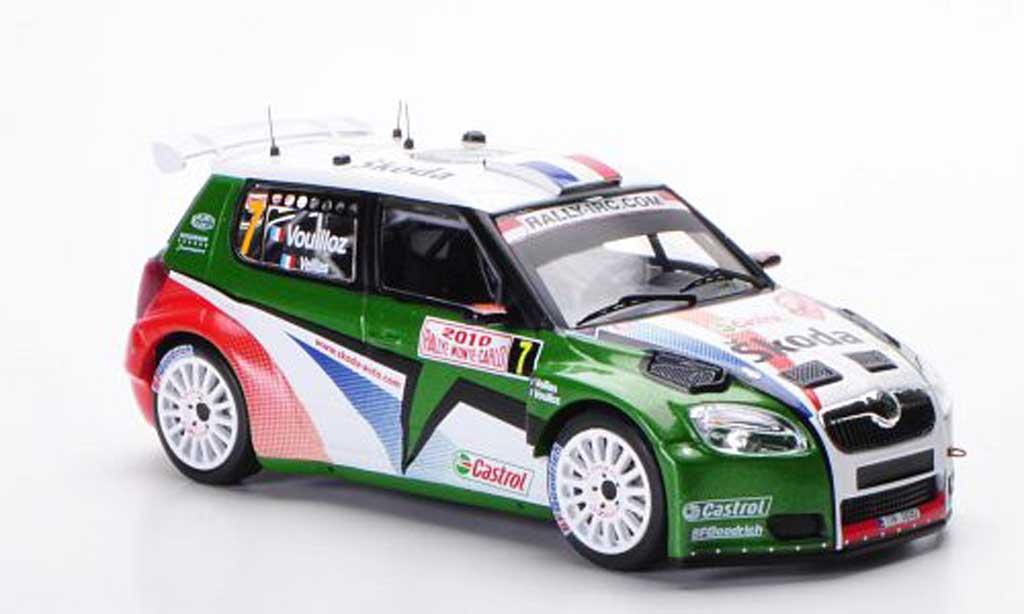 Skoda Fabia S2000 1/43 IXO No.7 N.Vouilloz / B.Veillas Rally Monte Carlo 2010 miniature