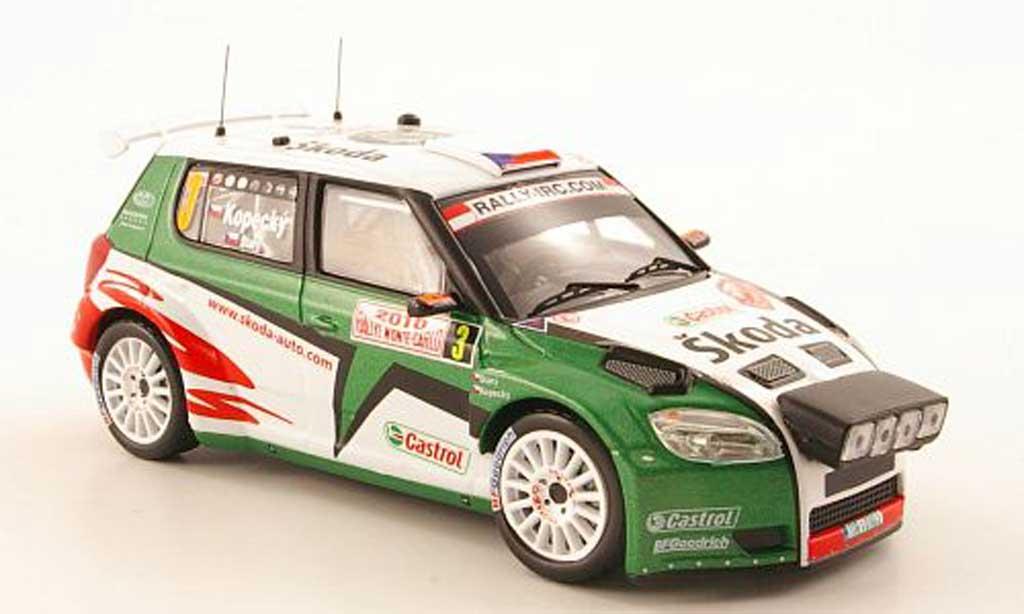 Skoda Fabia S2000 1/43 IXO No.3 Rally Monte Carlo 2010 miniature