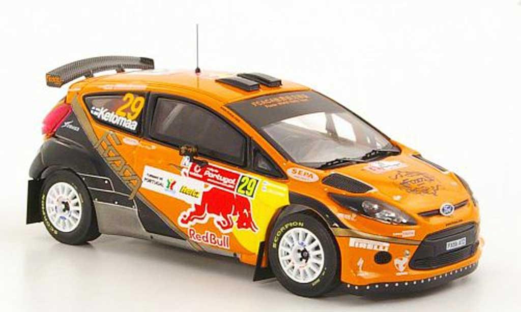 Ford Fiesta S2000 1/43 IXO No.29 J.Ketomaa / M.Stenberg S-WRC Rally Portugal 2010 miniature