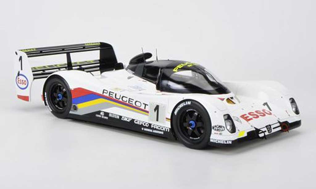 Peugeot 905 1992 1/18 Spark No.1 D.Warwick / Y.Dalmas / M.Jaussaud 24h Le Mans miniature