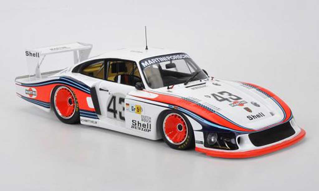 Porsche 935 1978 1/18 Spark No.43 Moby Dick Martini R.Stommelen/M.Schurti 24h Le Mans miniature