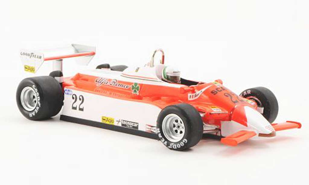Alfa Romeo 179 1980 1/43 Spark 1980 No.22 Marlboro A.de Cesaris GP Kanada 1980 diecast model cars