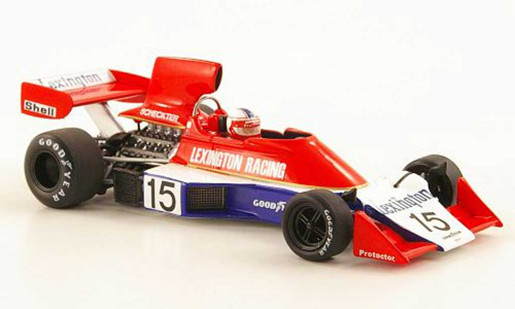 Tyrrell 007 1/43 Spark No.15 Lexington Racing GP Sudafrika 1976