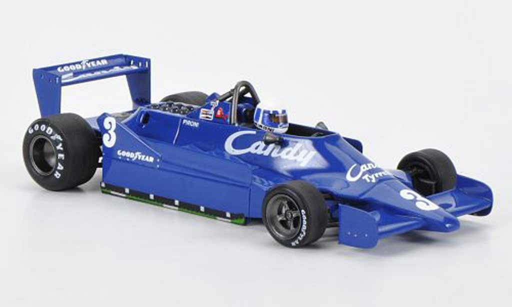 Tyrrell 009 1/43 Spark No.3 Candy D.Pironi GP Belgien 1979