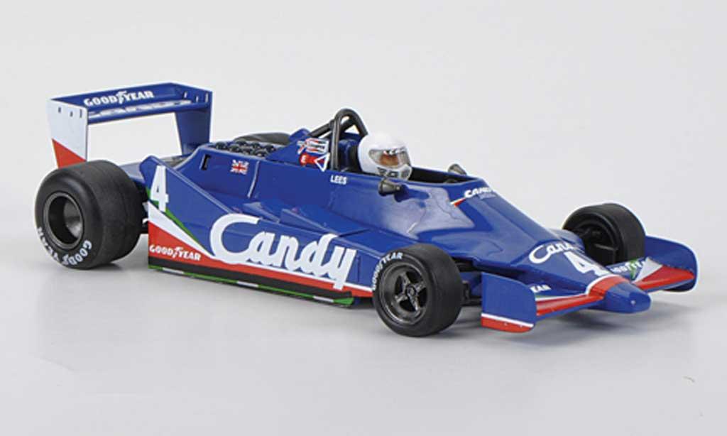 Tyrrell 009 1/43 Spark No.4 Candy G.Lees GP Deutschland 1979 miniature