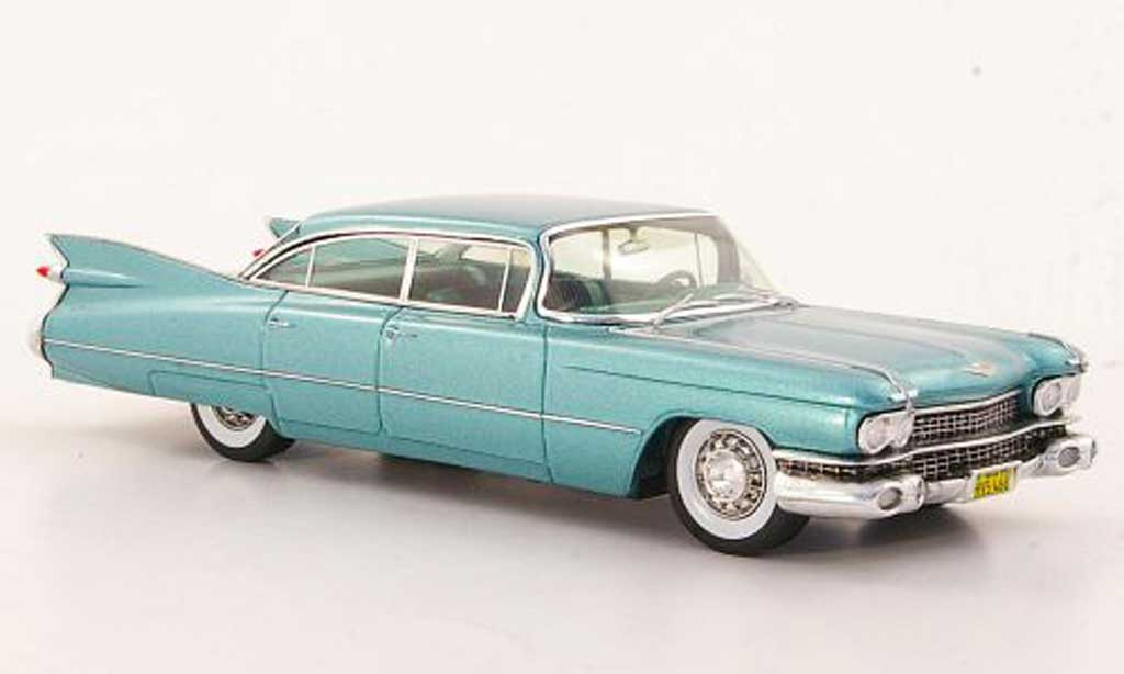 Cadillac Serie 62 1959 1/43 Spark 4-portes 6-Window Hardtop Sedan green diecast