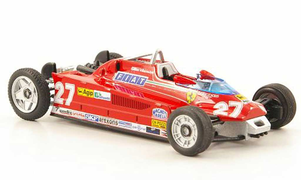 Ferrari 126 1981 1/43 Brumm CK Turbo No.27 Transportversion GP Monaco diecast