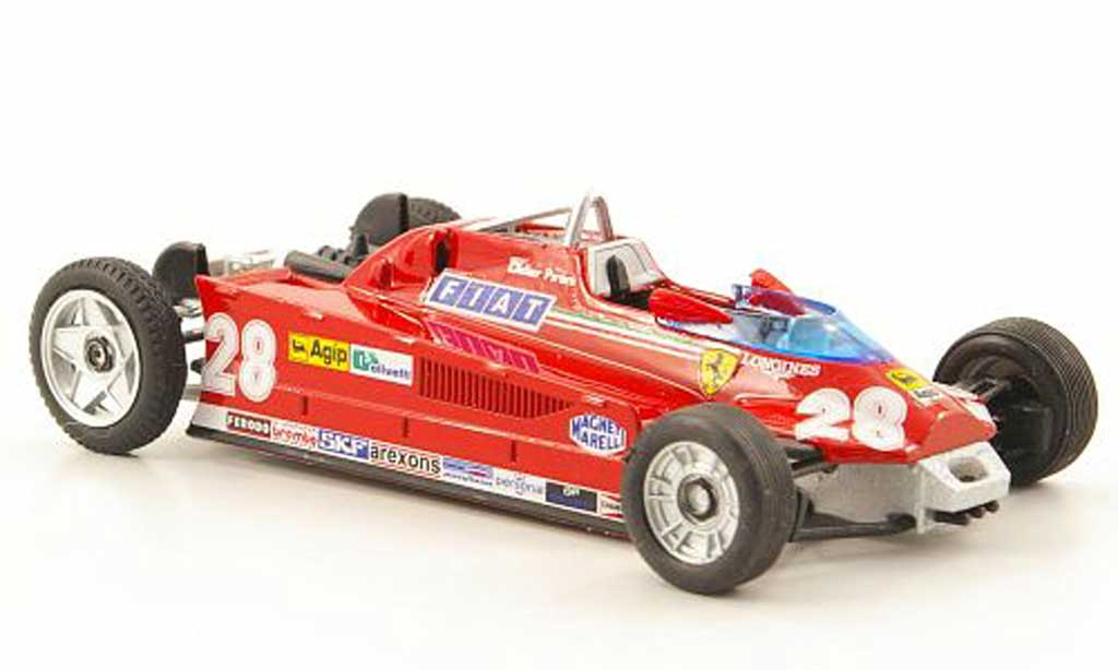 Ferrari 126 1981 1/43 Brumm CK Turbo No.28 Transportversion GP Monaco miniature