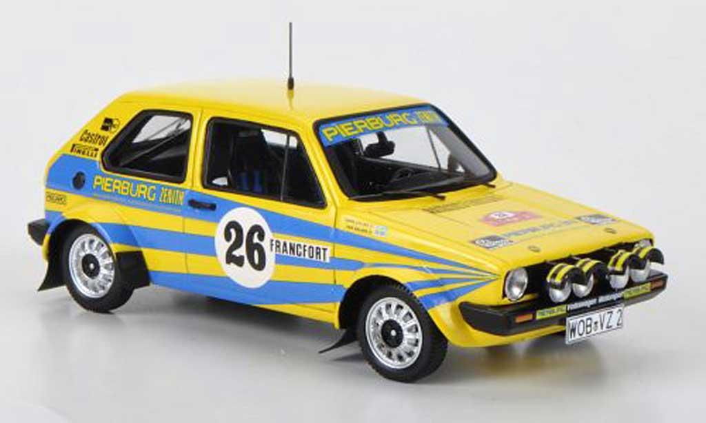 Volkswagen Golf 1 GTI 1/43 Spark No.26 Pierburg P.Eklund/H.Sylvan Rally Monte Carlo 1980 miniature