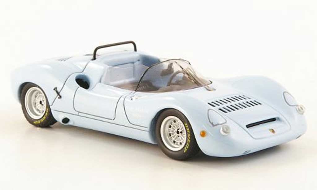 Fiat Abarth 1000 1/43 Spark SP helbleu 1968 miniature
