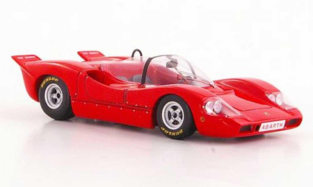 Abarth 2000 Sport Spider 1/43 Spark rouge 1968 miniature