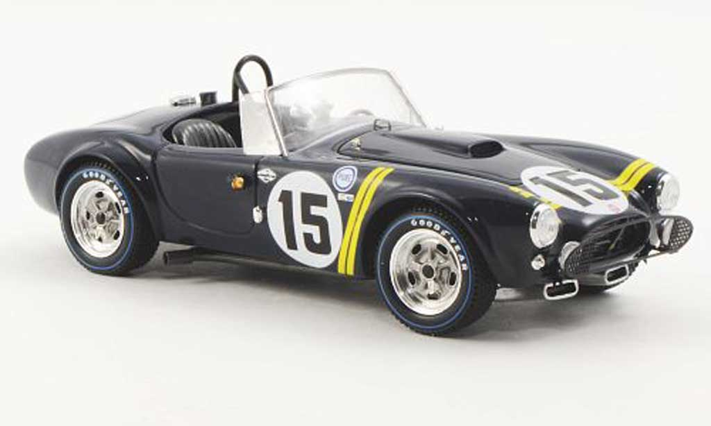 Shelby Ac Cobra 1/43 Spark No.15 D.Gurney/ P.Hill 12h Sebring 1963 miniature
