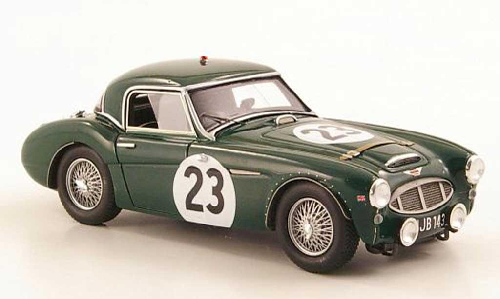 Austin Healey 3000 1/43 Spark No.23 24h Le Mans 1960 miniature