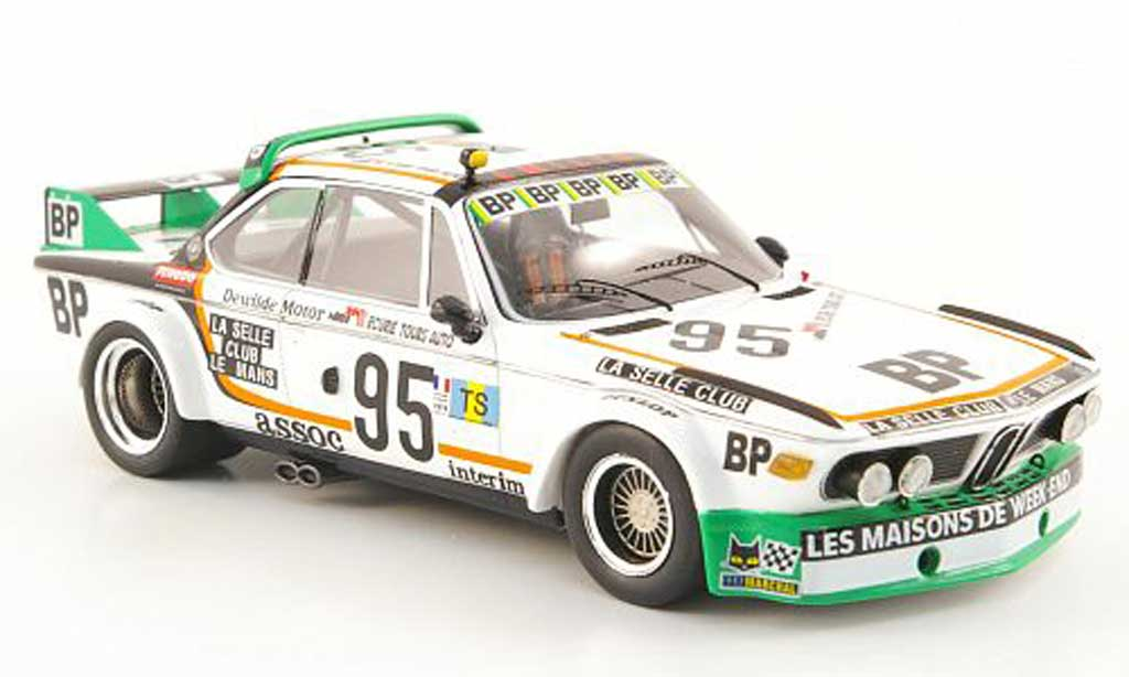 Bmw 3.0 CSL 1/43 Spark Gruppe 2 No.95 BP 24h Le Mans 1976 diecast model cars