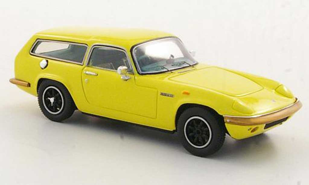 Lotus Elan 1/43 Spark S4 Hexagon Estate jaune RHD 1971 miniature