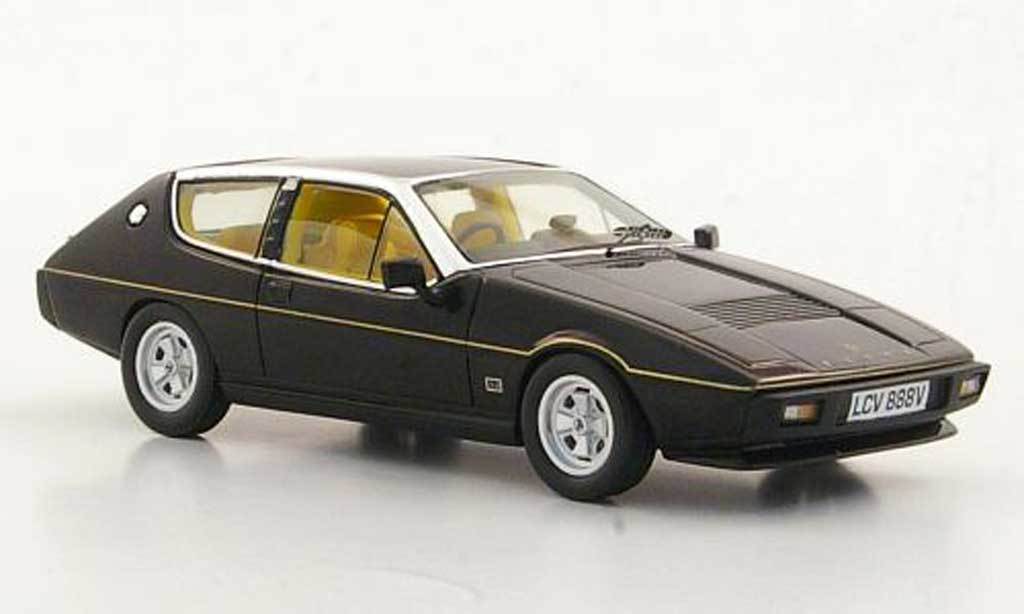 Lotus Elite 1/43 Spark S2 noire RHD 1980 miniature