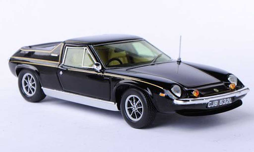 Lotus Europa 1/43 Spark Special black/gold RHD 1972 diecast model cars