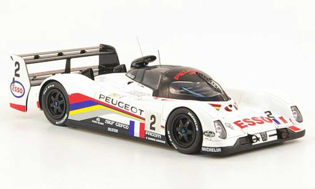 Peugeot 905 1993 1/43 Spark EV1 Ter No.2 Esso 24h Le Mans miniature