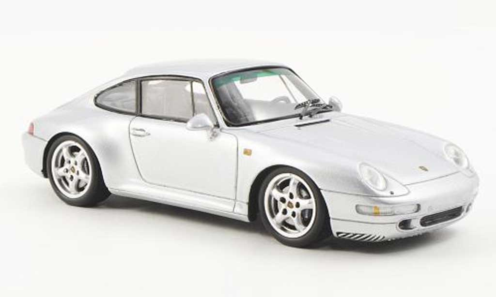 Porsche 993 Carrera 1/43 Spark 2S gray 1994 diecast