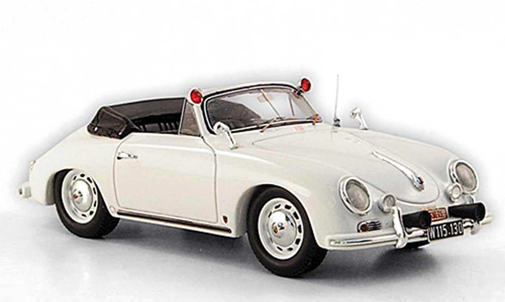 Porsche 356 1958 1/43 Spark A 1600 Super Gendarmerie Osterreich miniature