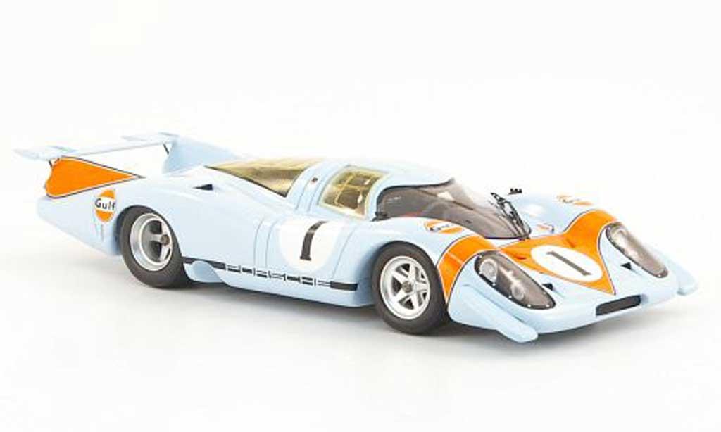 Porsche 917 1969 1/43 Spark No.1 Gulf Salon diecast