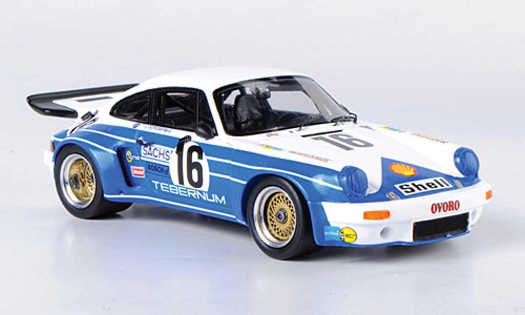 Porsche 930 RSR 1/43 Spark Carrera No.16 Tebernum 24h Le Mans 1975 C.Schickentanz/H.Bertrams coche miniatura