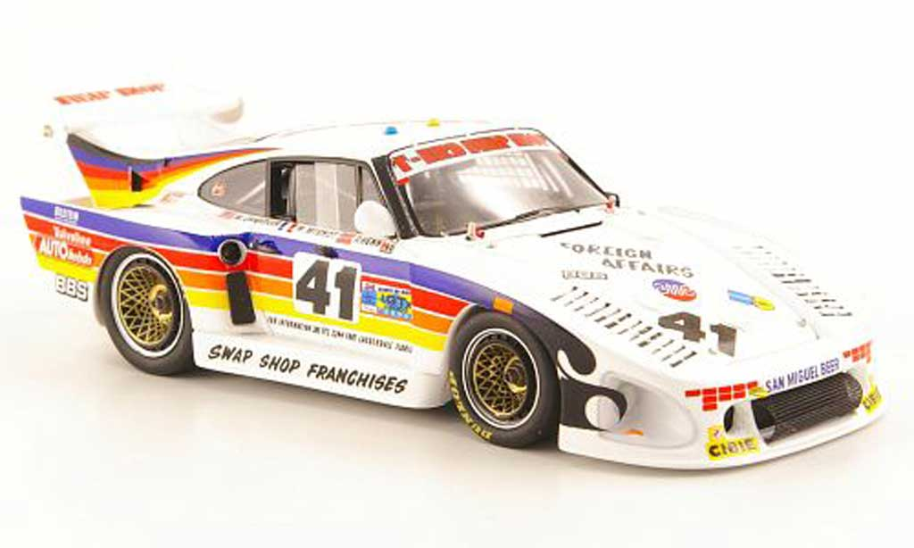 Porsche 935 1981 1/43 Spark K3 No.41 T-Bird Swap Shop 24h Le Mans miniature