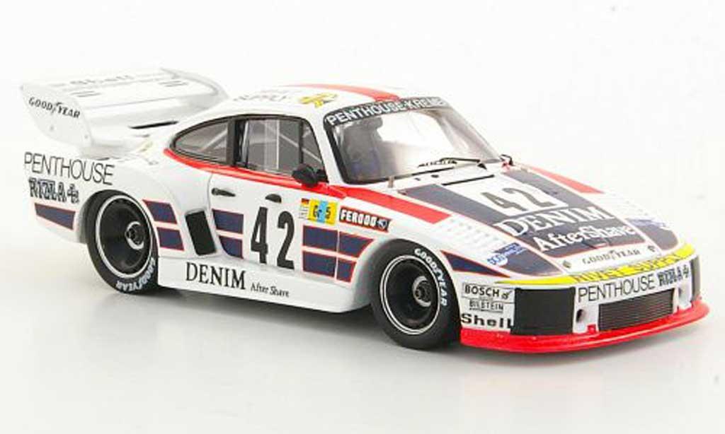 Porsche 935 1977 1/43 Spark K2 No.42 J.Fitzpatrick / G.Ewards / N.Faure 24h Le Mans coche miniatura