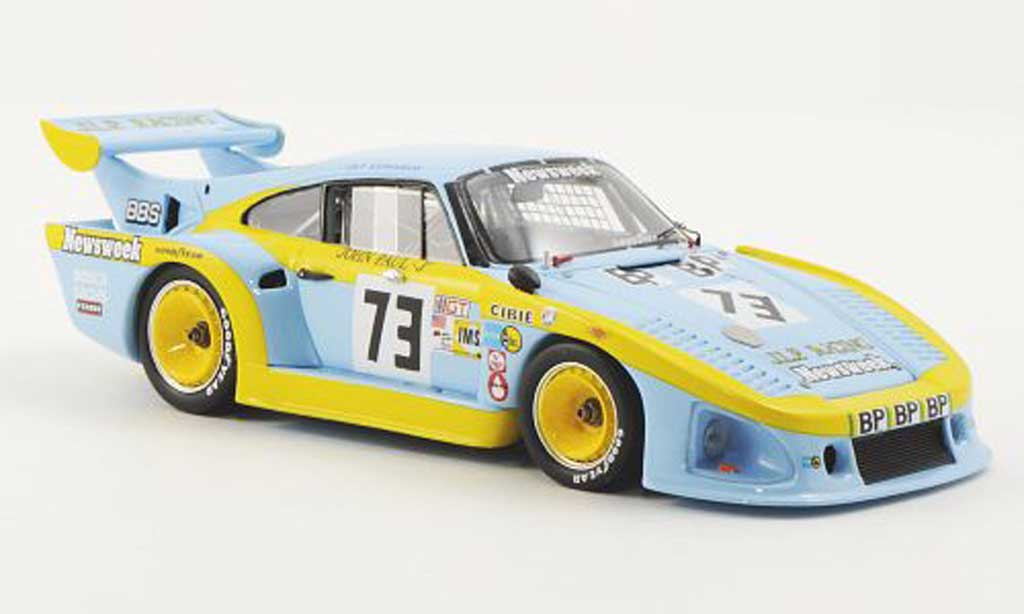 Porsche 935 1980 1/43 Spark JLP2 K3 No.73J.L.P. Racing J.Paul / J.Paul Jr. / G.Edwards 24h Le Mans diecast model cars