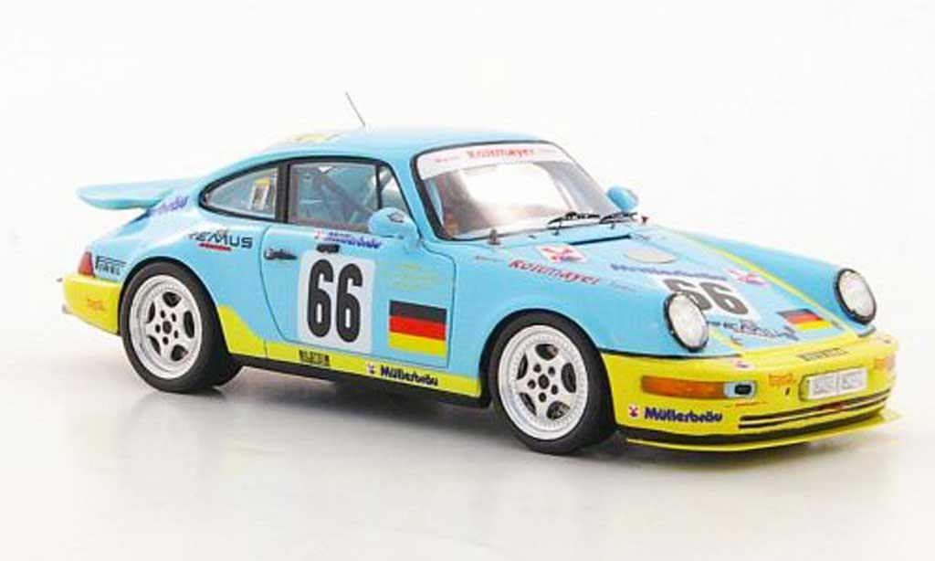 Porsche 964 Carrera RS 1/43 Spark No.66 G.Spreng / F.Muller / S.Angelastri 24h Le Mans 1993 diecast