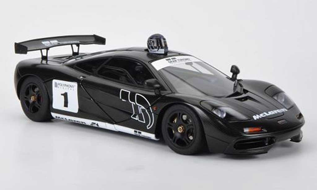 Mercedes F1 1/18 Autoart McLaren No.1 Gran Turismo 2010 Stealth Model (Gran Turismo 5) miniature
