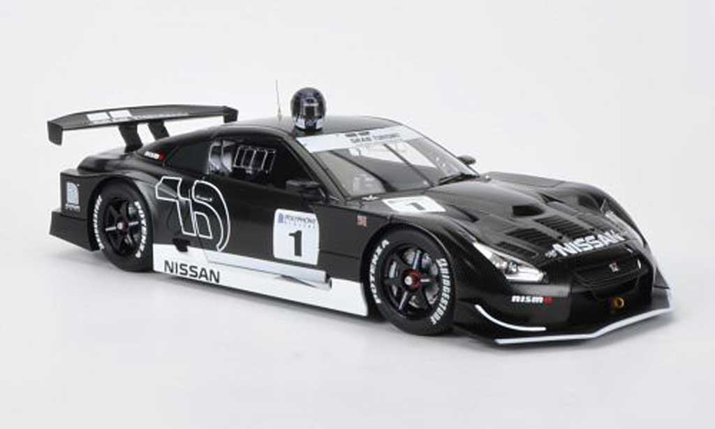 Nissan Skyline R35 1/18 Autoart JGTC GT-R GT500 No.1 Gran Turismo 2010 Stealth Model (Gran Turismo 5) miniature