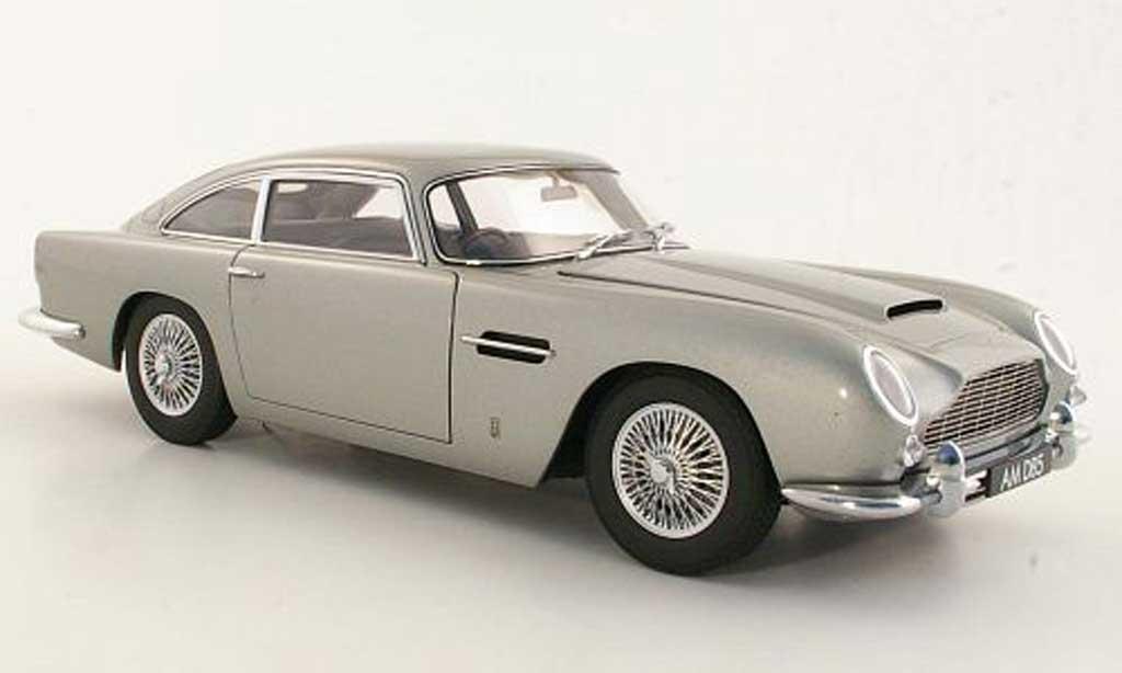 Aston Martin DB5 1/18 Autoart gray metallisee RHD diecast
