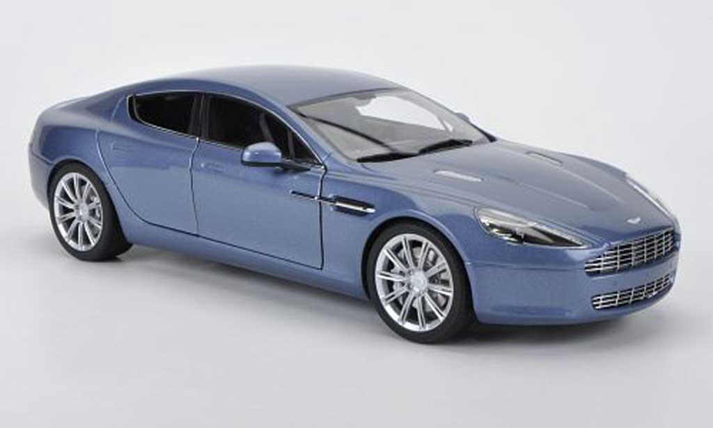 Aston Martin Rapide 1/18 Autoart bleu grise 2010 miniature