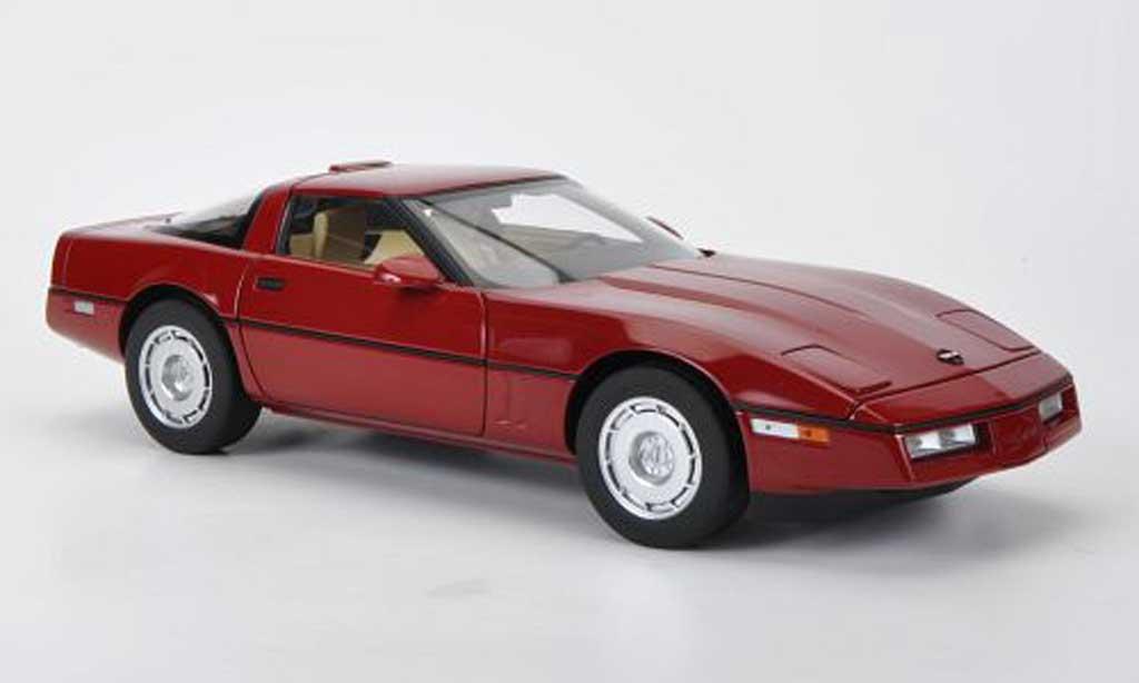 Chevrolet Corvette C4 1/18 Autoart C4 red diecast