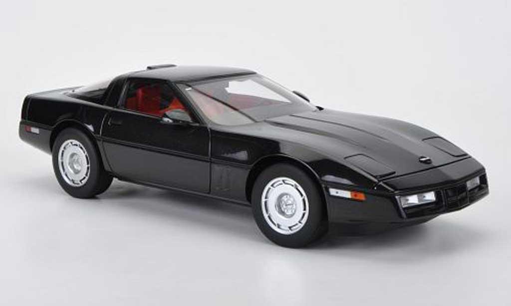 Chevrolet Corvette C4 1/18 Autoart C4 black diecast