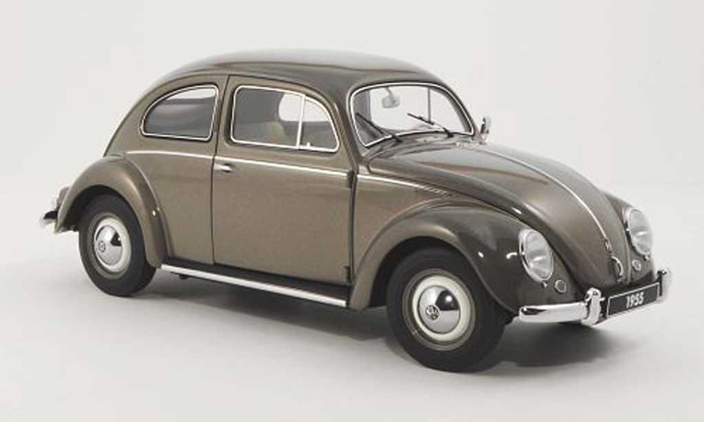 Volkswagen Kafer 1/18 Autoart gray 1955 diecast