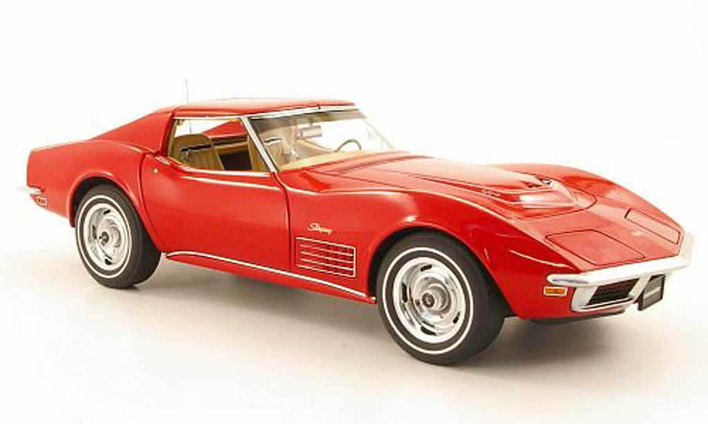Chevrolet Corvette C3 1/18 Autoart rouge 1970 miniature