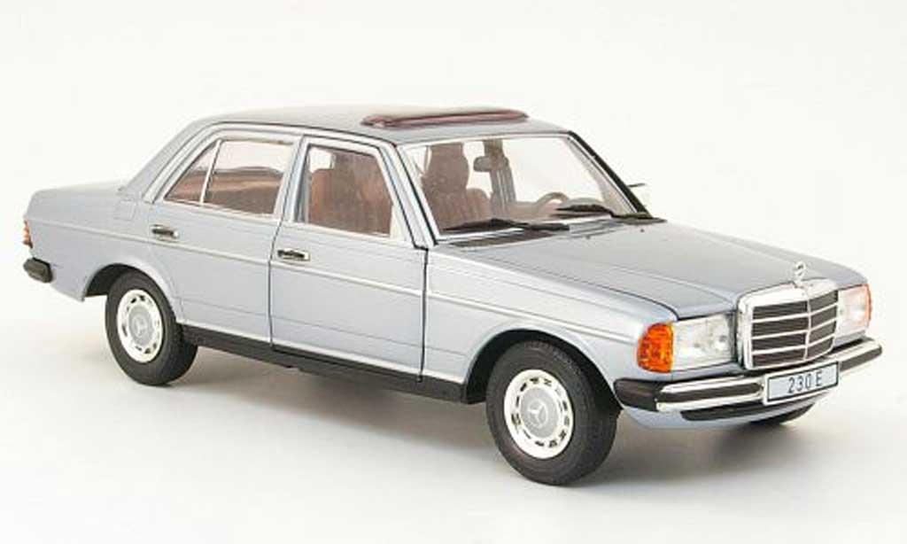 Mercedes 230 1/18 Revell e (w123) metallisee bleu miniature