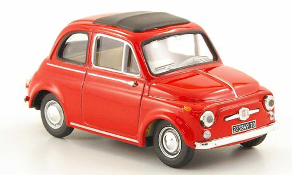 Fiat 500 D 1/43 Vitesse rouge 1960 miniature