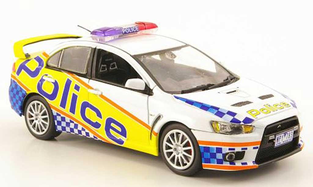 Mitsubishi Lancer Evolution X 1/43 Vitesse Australien Victoria Police 2009 miniature