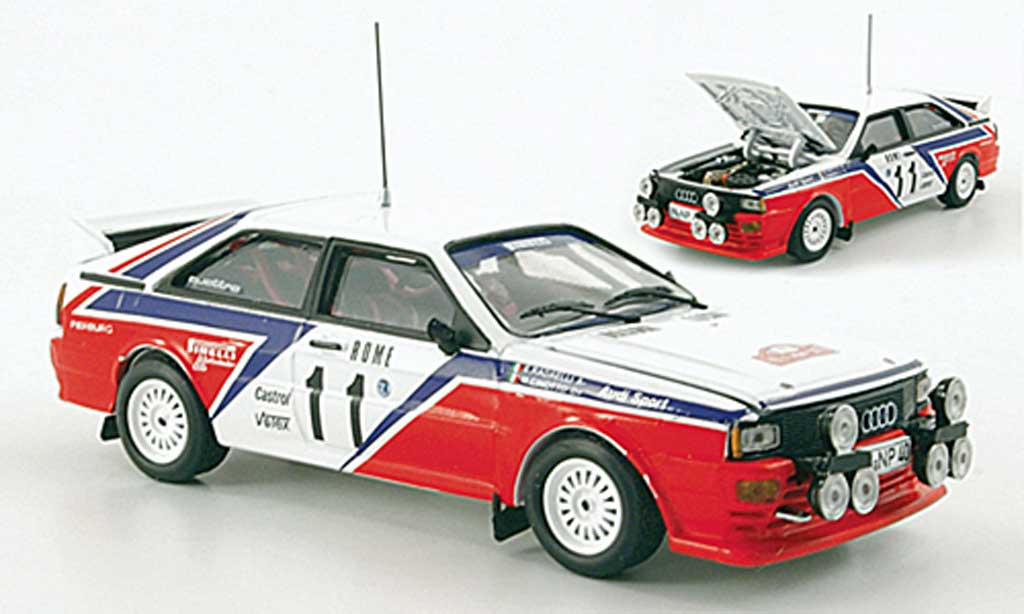 Audi Quattro 1/43 Vitesse No.11 R6 Rally Monte Carlo 1982 diecast model cars