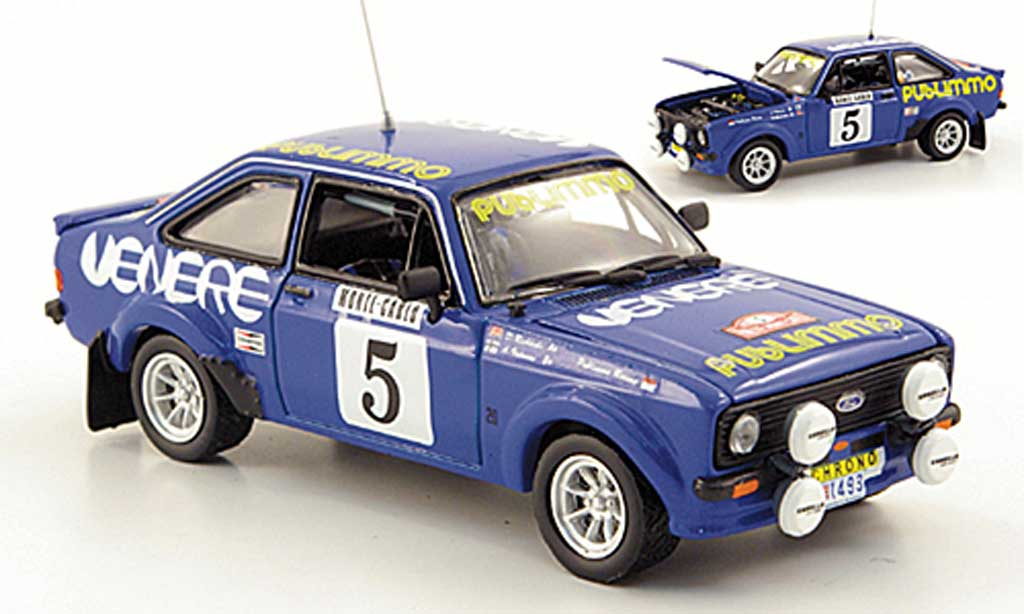 Ford Escort RS 1800 1/43 Vitesse No.5 Publimmo Rally Monte Carlo 1980 miniature