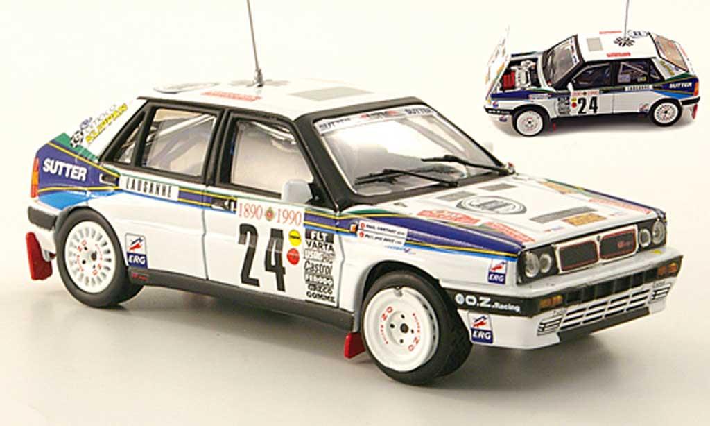 Lancia Delta HF Integrale 1/43 Vitesse No.24 Lucky Strike Rally Monte Carlo 1990 miniature