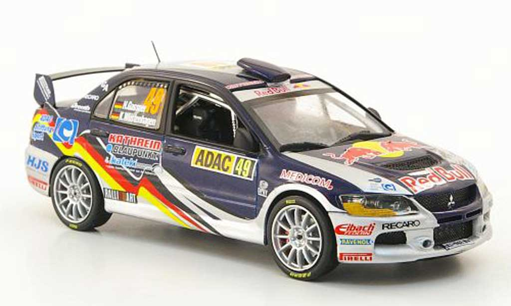 Mitsubishi Lancer Evolution IX 1/43 Vitesse No.49 ADAC Rally Deutschland 2010 miniature
