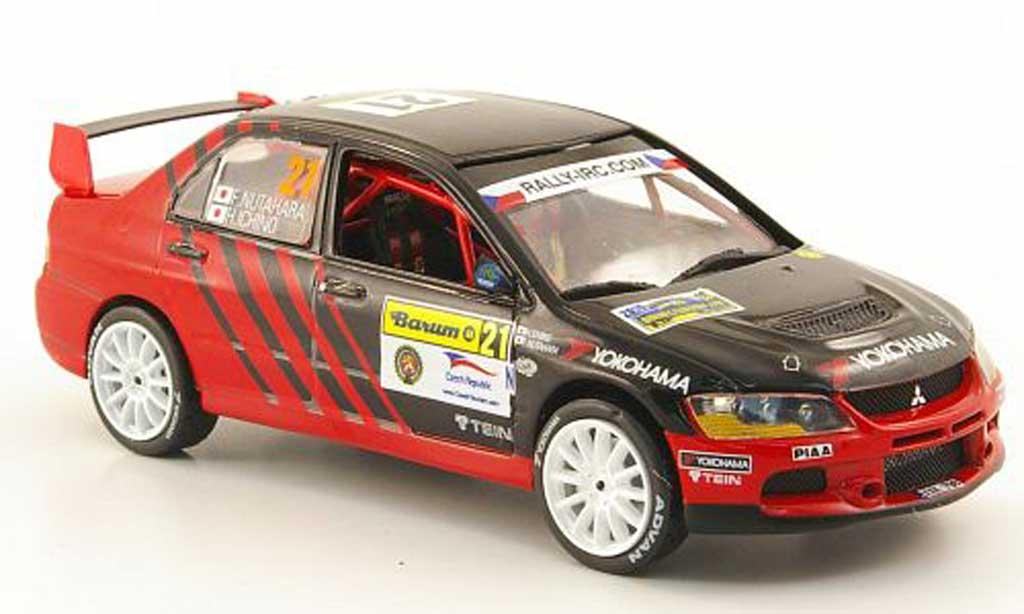 Mitsubishi Lancer Evolution IX 1/43 Vitesse No.21 Yokohama Barum Rally Zlin 2010 miniature